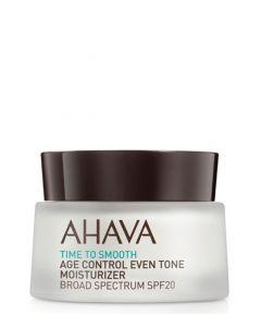 AHAVA Age Control Even Tone Moisturizer SPF 20, 50 ml.