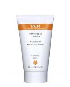 REN Skincare Micro Polish Cleanser, 150 ml.
