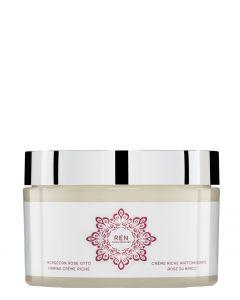 REN Skincare Moroccan Rose Otto Firming Creme Riche, 200 ml