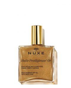 Nuxe Shimmering Gold Dry Oil Huile Prodigieuse, 100 ml.