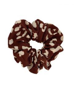 JA•NI hair Accessories - Hair Scrunchie, The Red Leo