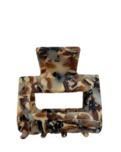 JA•NI Hair Accessories - Hair Clamps Sofia, The Brown Mosaic