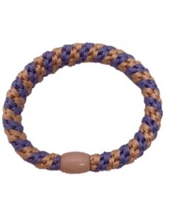JA•NI Hair Accessories - Hair elastics, The Peach & Purple