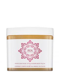 REN Skincare Moroccan Rose Otto Sugar Body Polish, 330 ml.