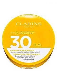 Clarins Sun Face Compact foundation spf30, 11 ml.