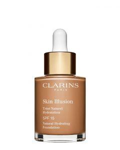 Clarins Skin Illusion Foundation SPF 20 113 Chestnut, 30 ml.