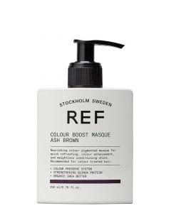 REF Colour Boost Masque Ash Brown, 200 ml.