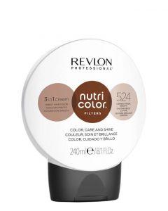 Revlon Nutri Color Filters 524 Copery Pearl Brown, 240 ml.